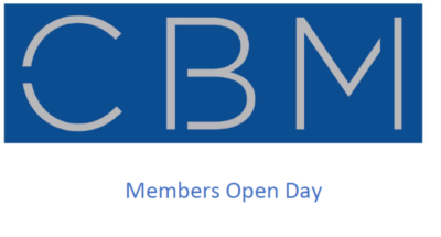 Save the Date, CBM Members Open Day